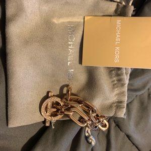 Rose gold micheal kors bracelet